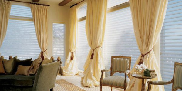 Пошив штор и портьер на заказ